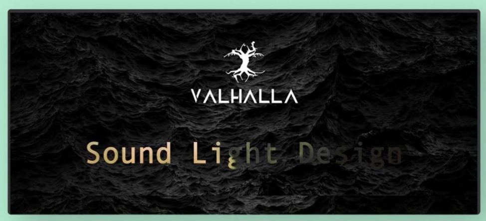 Valhalla Sound Desktop Website Preview